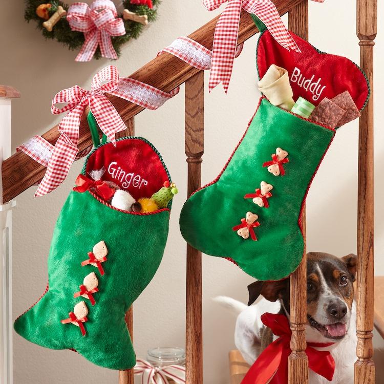 Cat and Dog Christmas Stockings