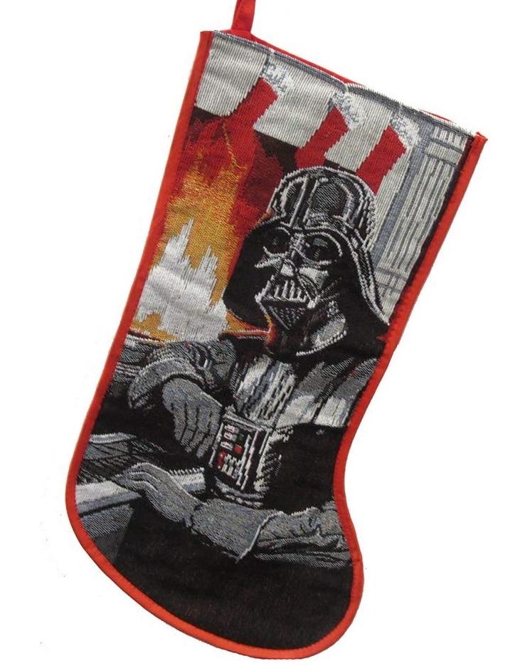 Botas navideñas de Star Wars
