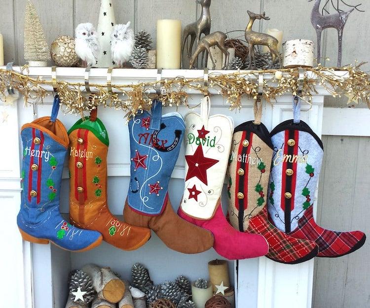 Botas de Navidad originales