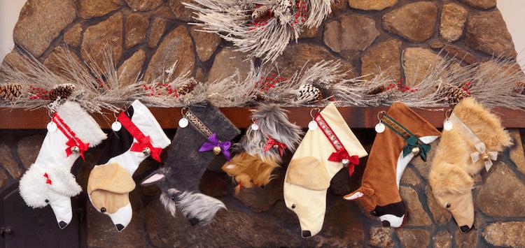 Botas de Navidad para mascotas