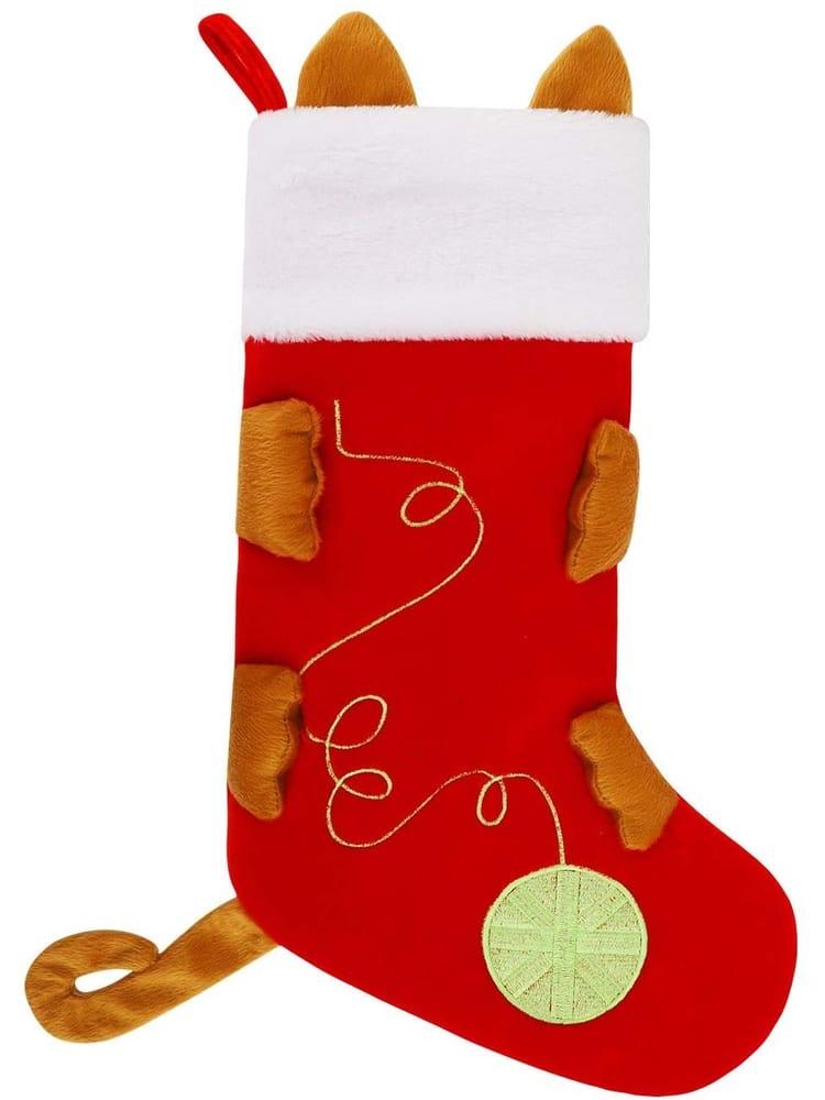 Botas navideñas para mascotas