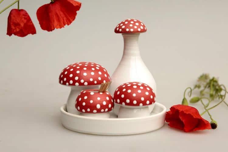 Amanita Mushroom Ceramics