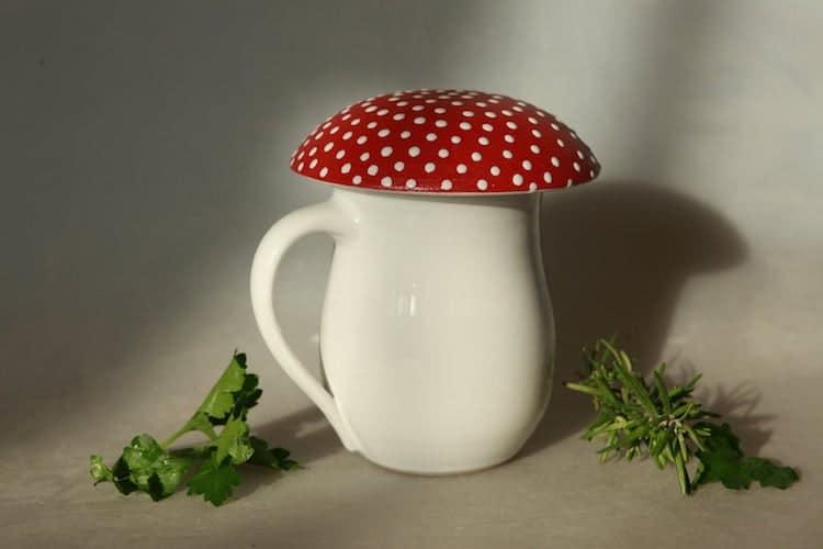 Amanita Mushroom Mug