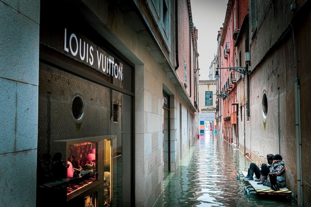 Venecia inundada en noviembre de 2019 por Natalia Elena Massi