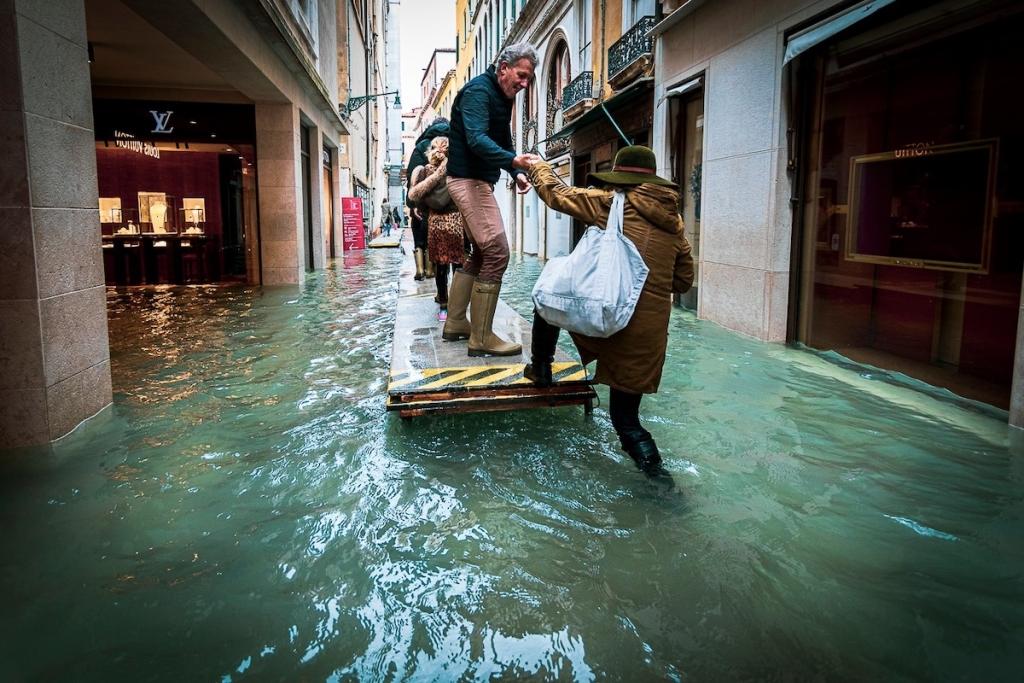 Venecia inundada por Natalia Elena Massi