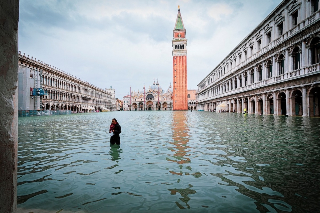 Acqua Alta in Venice November 2019