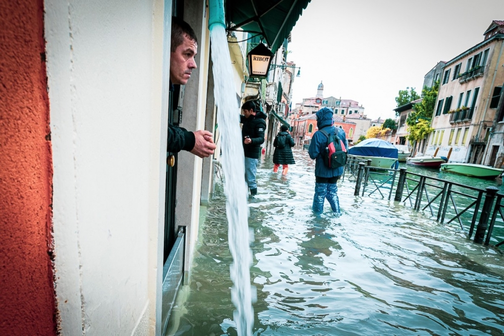 Venice Flood by Natalia Elena Massi