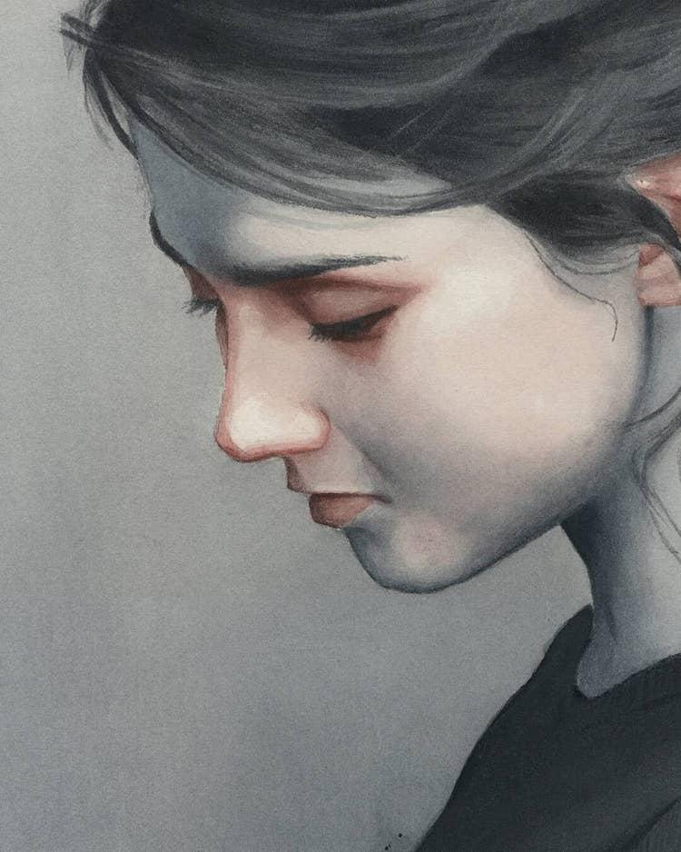 Watercolor Paintings by Miroslav Zgabaj