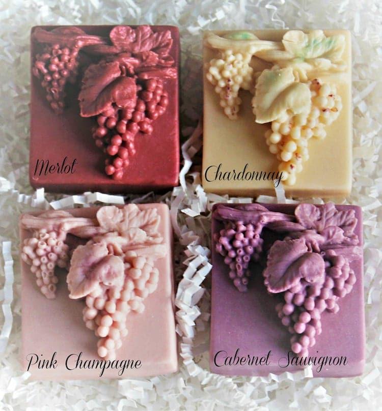 Wine Soap Gift Set