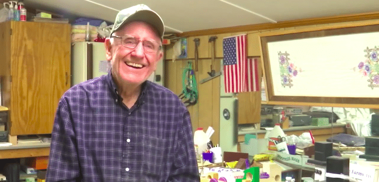 Wooden Toy Maker Jim Annis