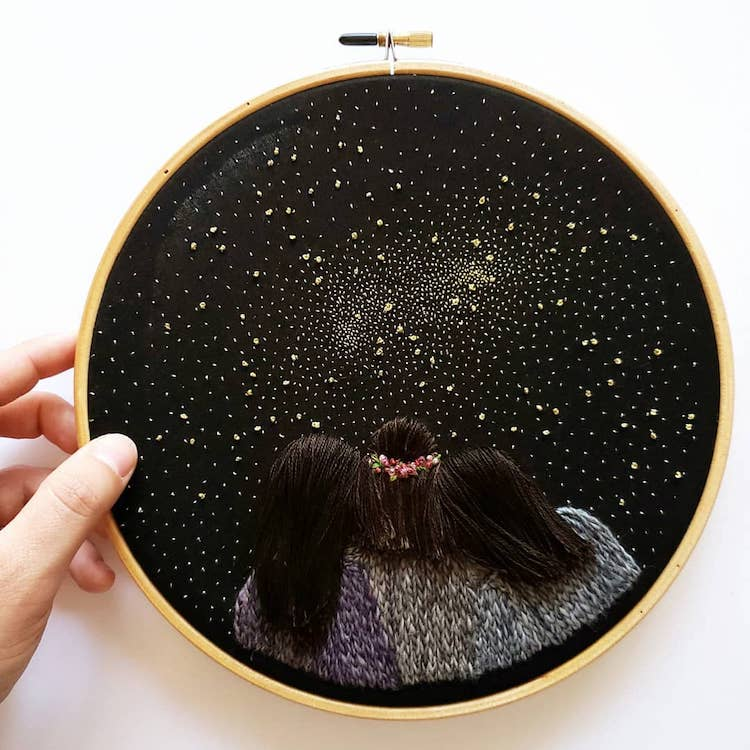 3D Hand Embroidery