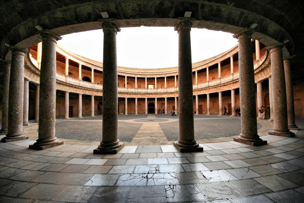 Palacio de Carlos V en la Alhambra