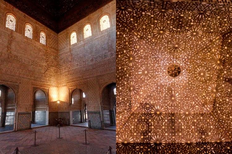 Sala de los Embajadores en la Alhambra