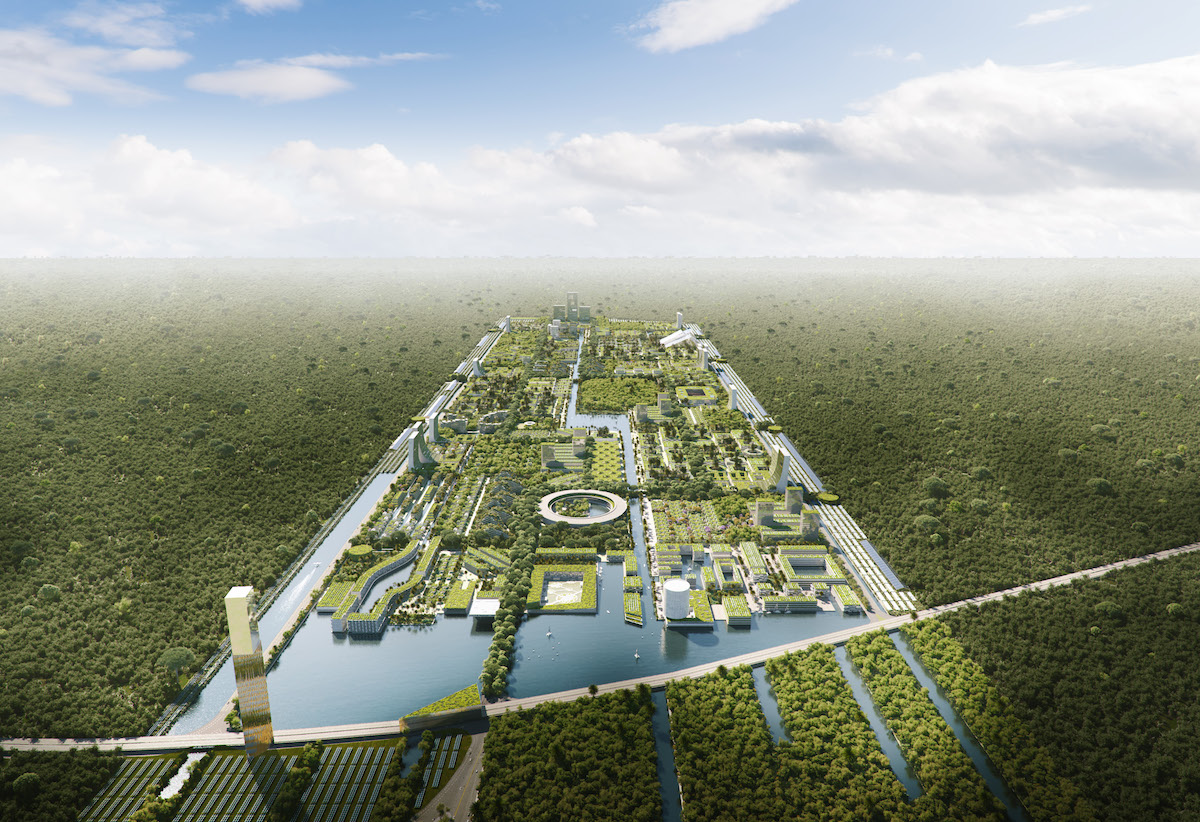 Smart Forest City Cancun por Stefano Boeri