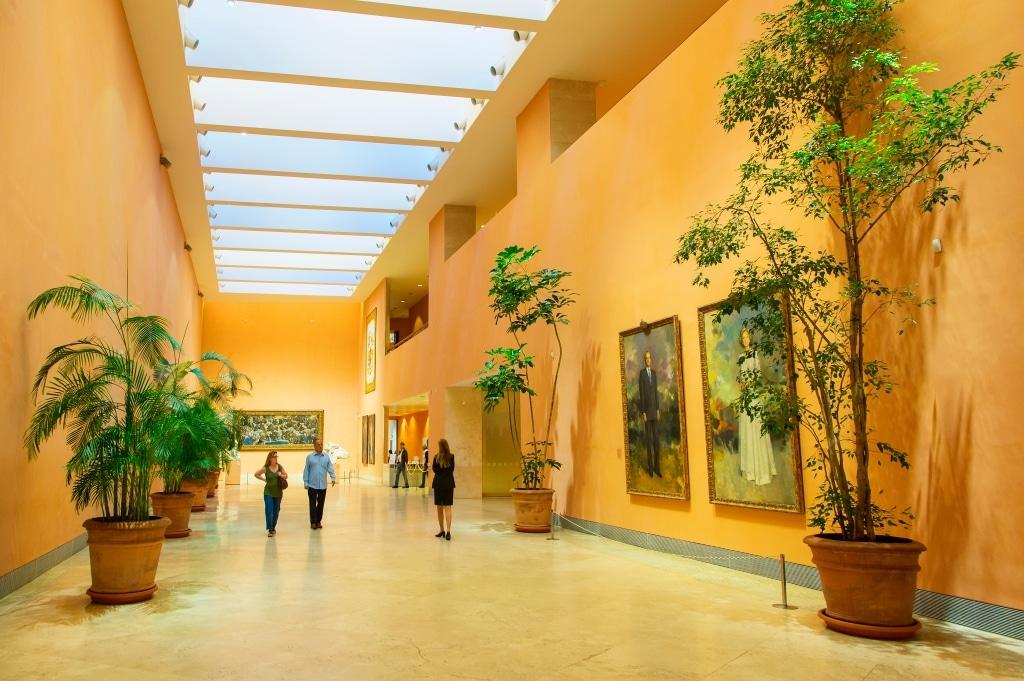 Interior del Museo Thyssen Bornemisza