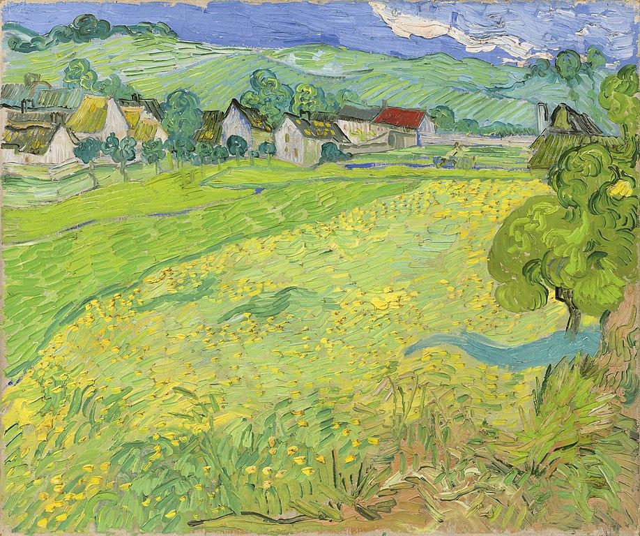 Les Vessenots en Auvers de Vincent van Gogh