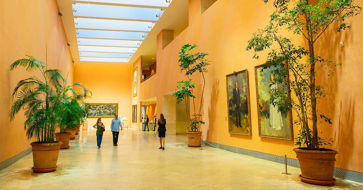 Museo Thyssen Bornemisza, en el Triángulo del Arte