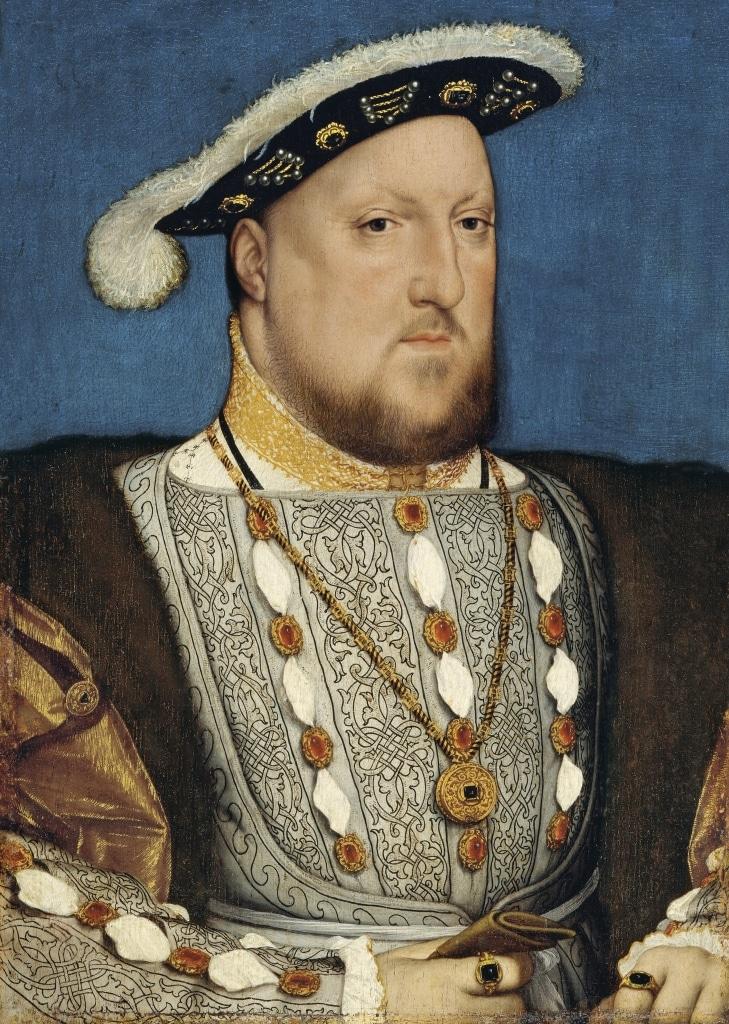 Retrato de Enrique VIII por Hans Holbein el Joven
