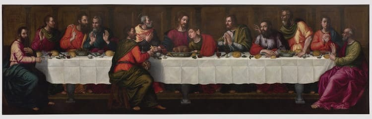 Last Supper by Plautilla Nelli After Restoration