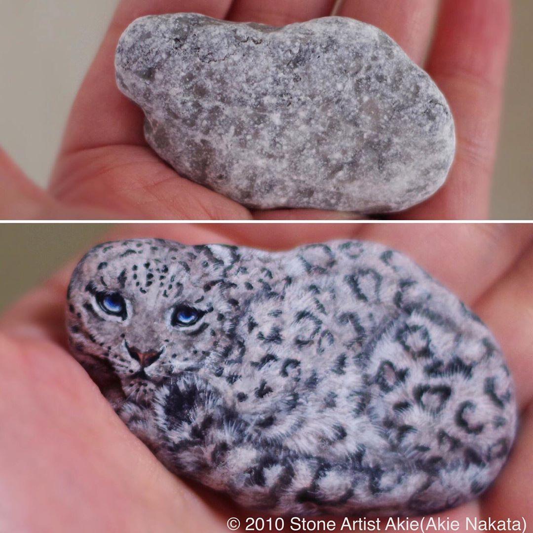 Rock Art by Stone Artist Akie