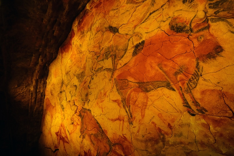 Prehistoric Cave Paintings at Altamira