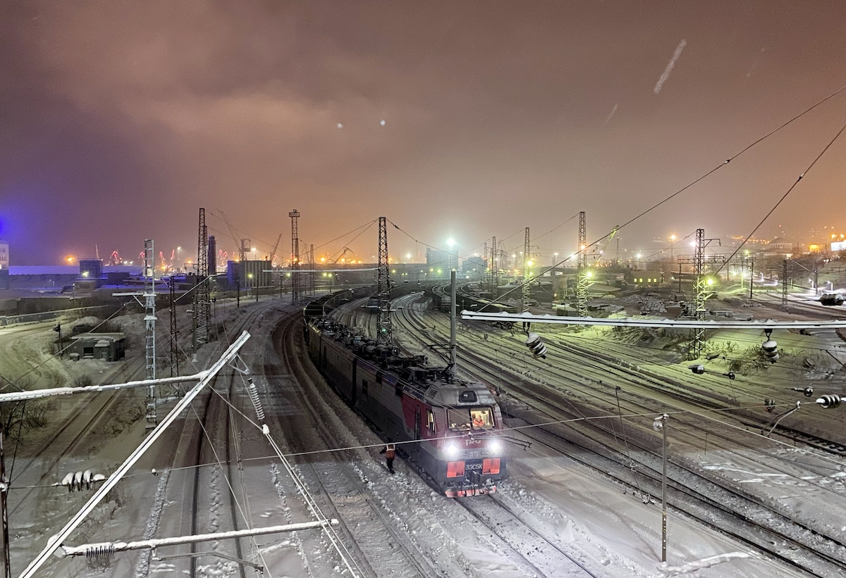 Murmansk Rail Yard