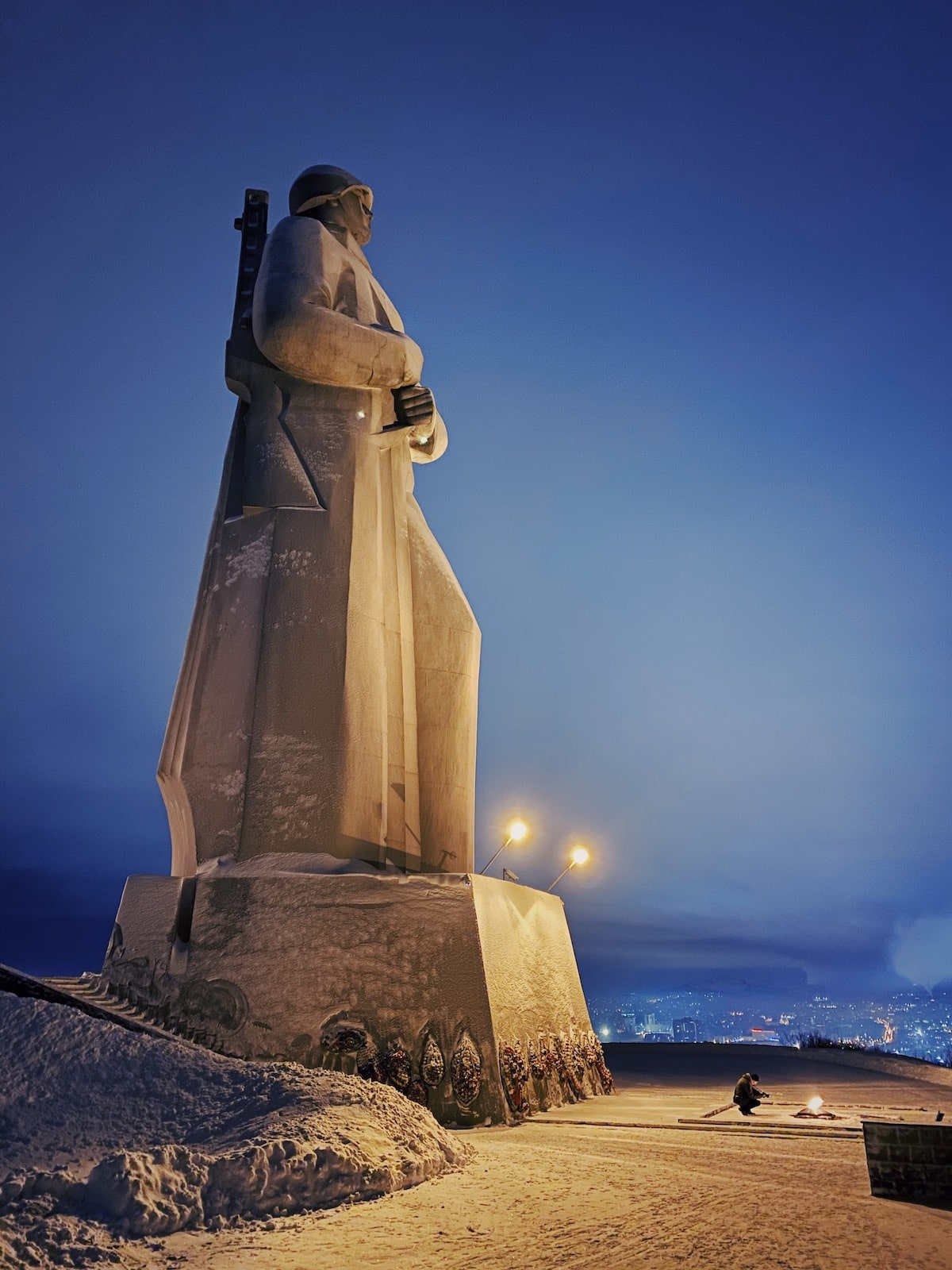 Soviet Monument in Murmansk