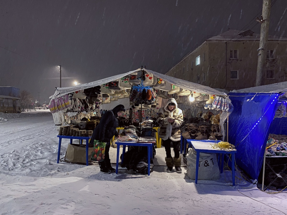Life in Murmansk During Polar Night