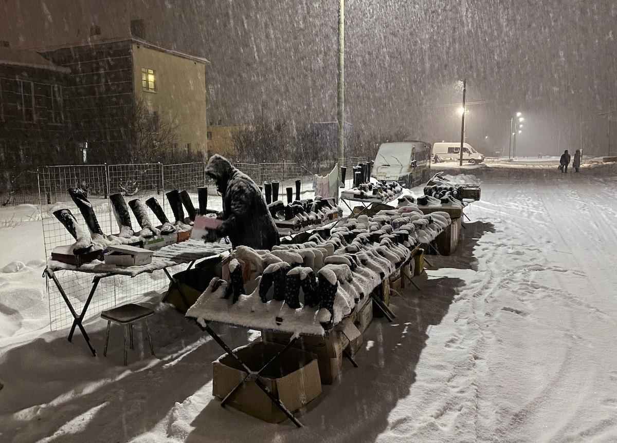 Life in Murmansk During Polar Night