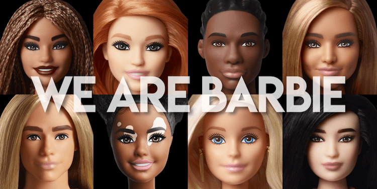 Línea diversa de Barbie Fashionista