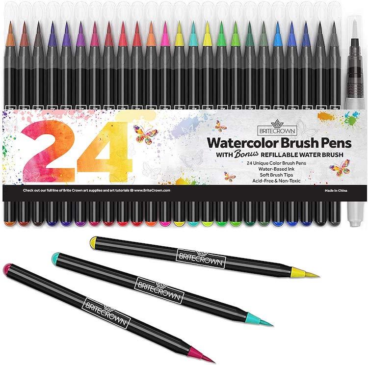 Best Watercolor Marker Sets
