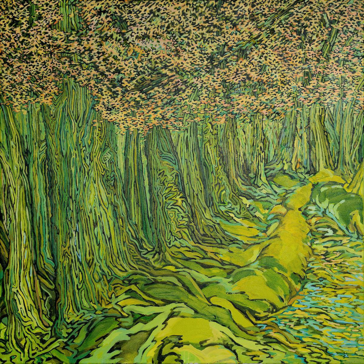 Bethany Noel Murray Migraine Paintings