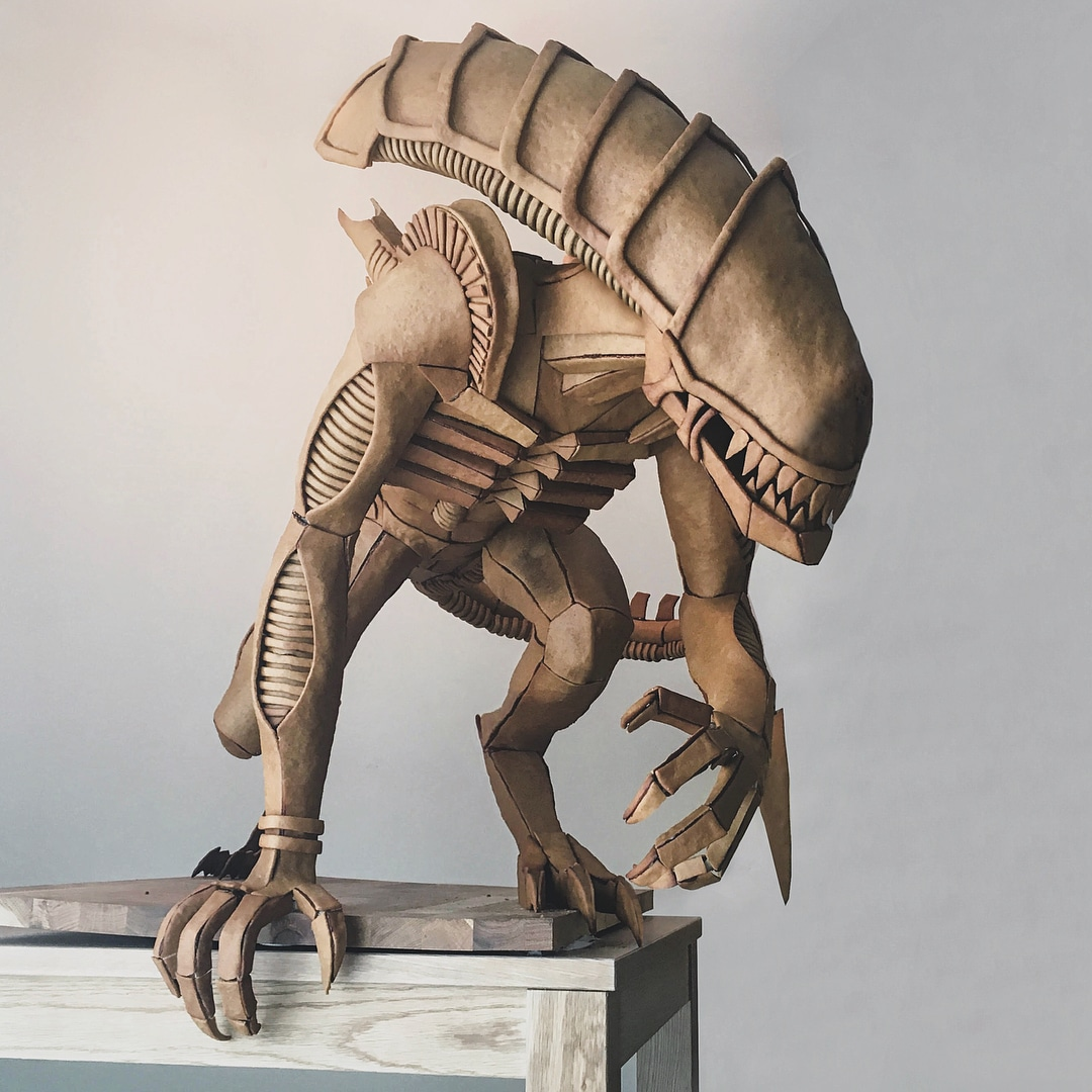Xenomorph Gingerbread Sculpture