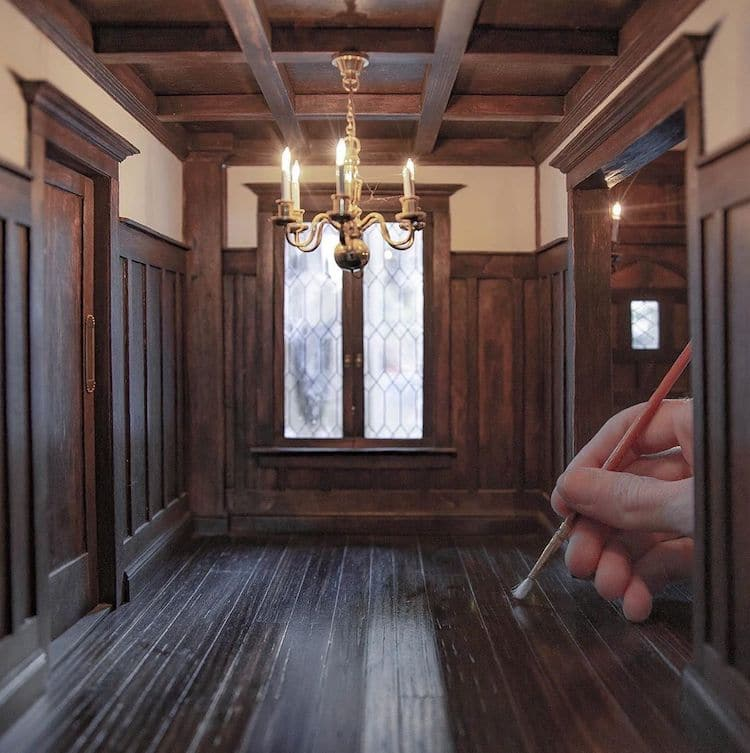 Miniature Interior by Chris Toledo