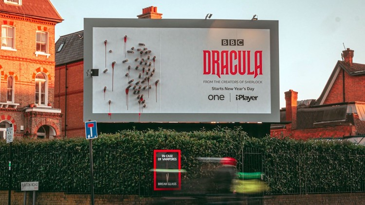Dracula Billboard for New BBC Series