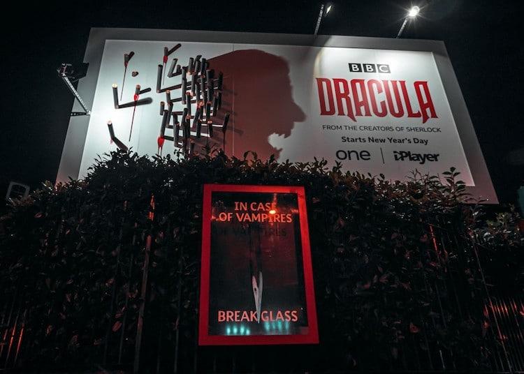 Dracula publicidad de BBC