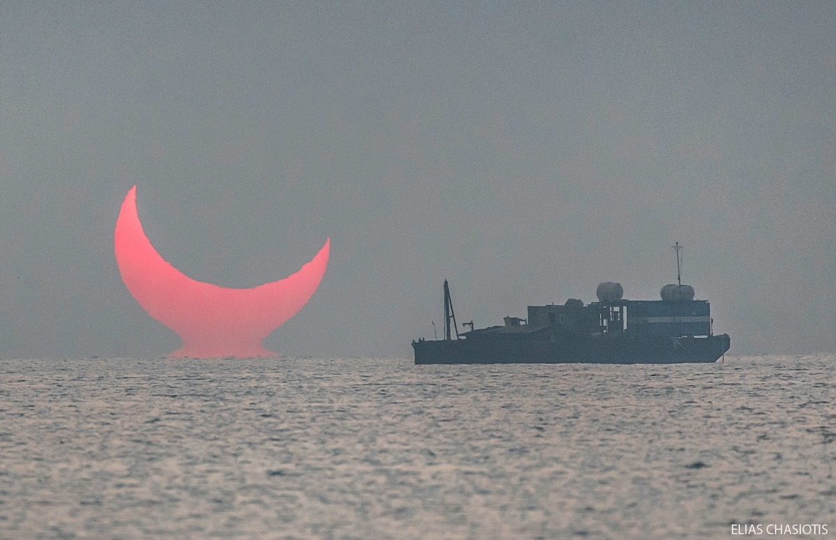 Annular Eclipse Mirage Elias Chasiotis