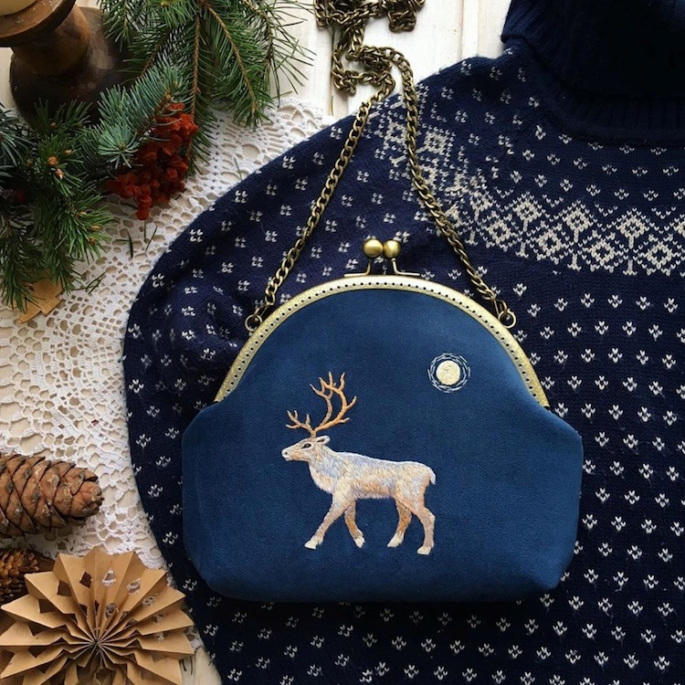 Embroidered Bags by Alexandra Goltsova Mart Bag