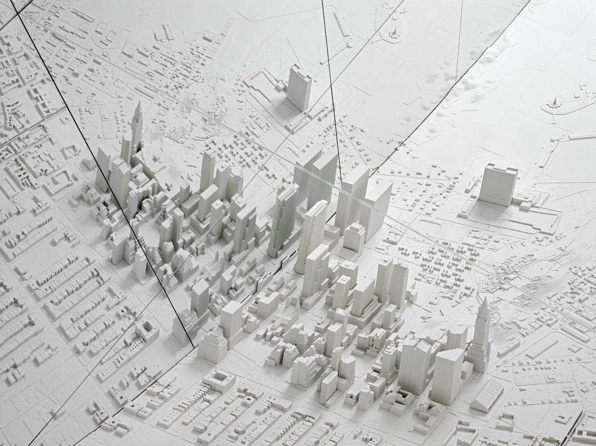 3D Map Art by Es Devlin