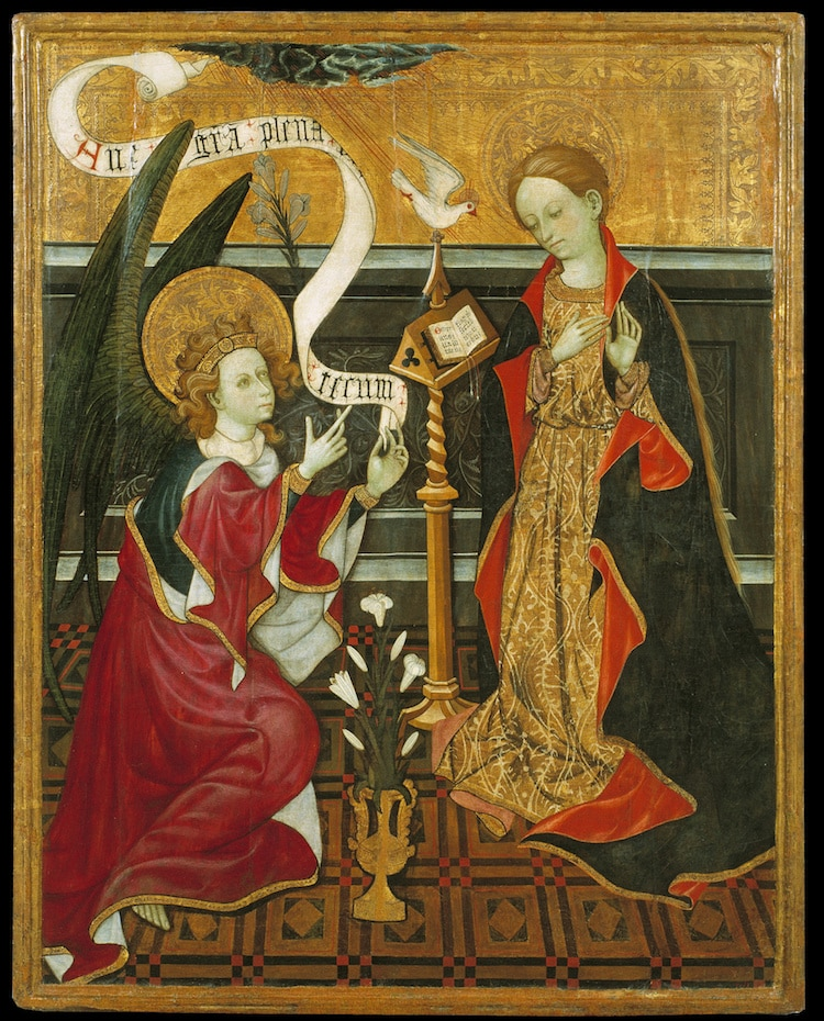The Annunciation in Art History