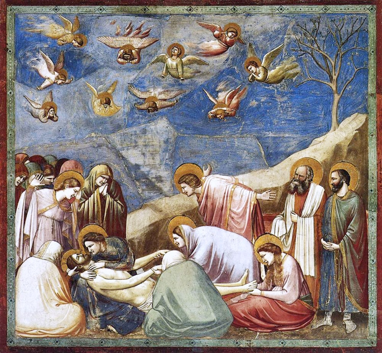 Giotto Lamentation Painting