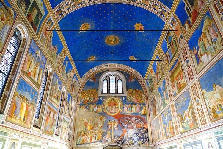 Capilla de los Scrovegni en Padua por Giotto