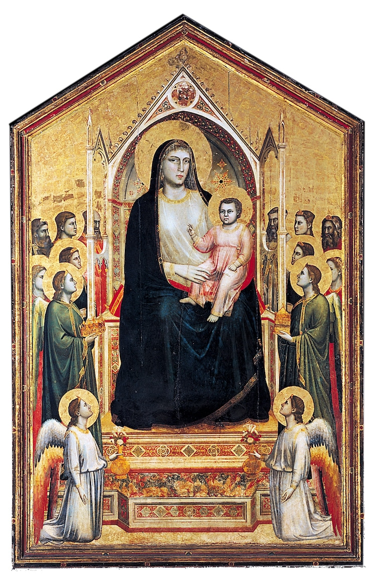 Giotto Madonna Painting