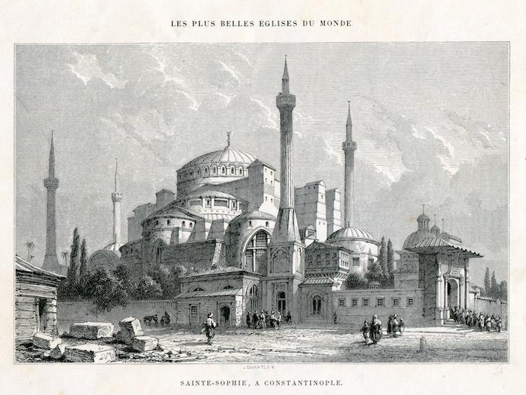Santa Sofía en Estambul