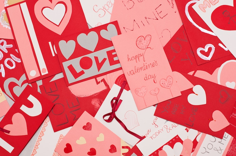VALENTINES DAY CARD TO THE ONE I LOVE GENERAL ONE I FANCY CUTE SECRET VALENTINE
