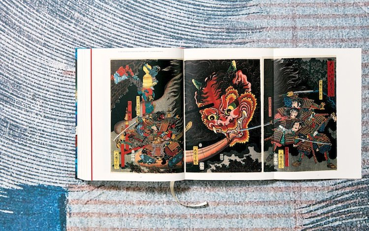Japanese Woodblock Prints Book by Taschen