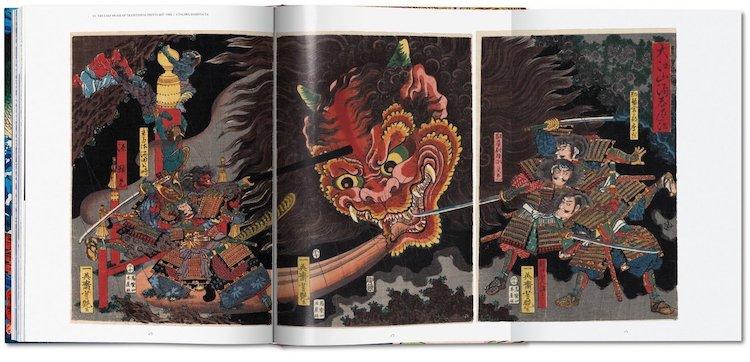 libro de estampas japonesas Taschen