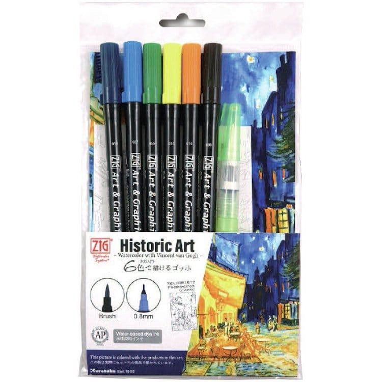 Kuretake Watercolor Markers