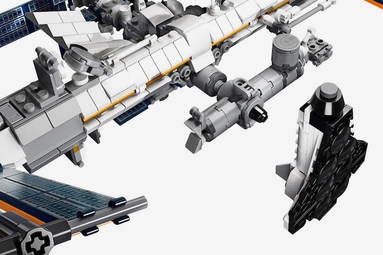 LEGO estacion espacial internacional