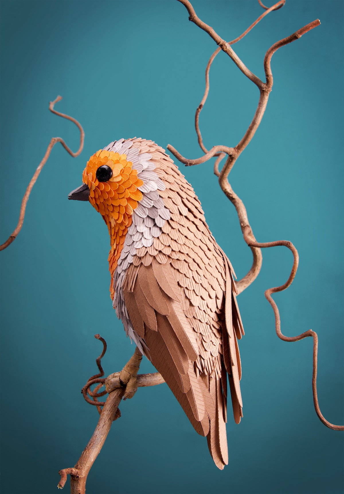 3D Bird Sculptures by Lisa Lloyd